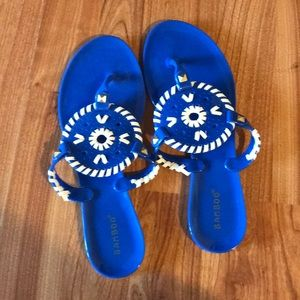 Bamboo (Jack Rogers similar) Jelly Sandals